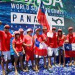 Chile logró el octavo puesto del ISA World Surfing