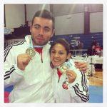 Gabriela Bruna y Alejandro Mellado logran las medallas chilenas en el Panamericano de Karate