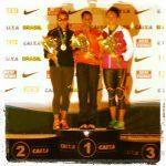Macarena Reyes y Víctor Aravena logran medallas en nueva fecha del Grand Prix Sudamericano de Atletismo
