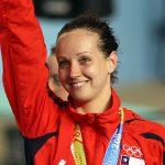 Kristel Köbrich finalizó su participación en etapa del Grand Prix de Natación en Charlotte