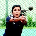 Belén Quintana nuevamente rompe el récord menor femenino de lanzamiento de martillo