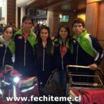 Este miércoles regresó la Selección Chilena de Tenis de Mesa tras el Mundial de Francia
