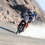 Esteban Smith se quedó con el triunfo en la primera jornada del rally Desafío del Desierto