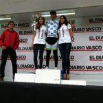 Adrián Alvarado es el líder de montaña de la Vuelta a Bidasoa