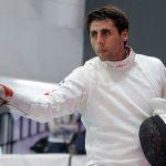 Paris Inostroza destaca en torneo internacional de esgrima en Buenos Aires