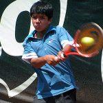 Chile sumó un triunfo en la competencia de varones del Sudamericano Sub 14 de Tenis