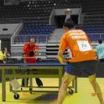 Tenimesista paralímpico Cristian Dettoni alcanzó los cuartos de final de torneo en Eslovaquia