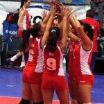 Chile clasificó a los cuartos de final de la Copa Panamericana de Volleyball Femenino U18