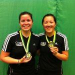 Camila Macaya y Ting Ting Chou logran medalla de plata en el Open Mercosur de Badminton