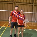 Ting Ting Chou y Esteban Mujica obtienen medalla de bronce en Open Argentina Badminton