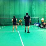 Chile avanza en competencias de duplas tras nueva jornada del Open Mercosur de Badminton