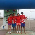 Con gran participación nacional finalizó el Torneo Beach Tennis Arica 2013