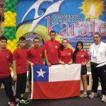 Gran actuación chilena en categorías menores del Sudamericano de Karate