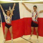 Víctor Retamal y Natalia Bravo participarán en el Sudamericano de Gimnasia Aeróbica