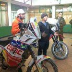 """Francisco """"Chaleco"""" López entrenó en Calama para el Dakar del 2014"""