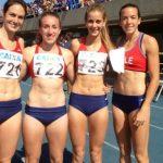 Chile logró récord en la posta 4x400 damas en el Trofeo de Brasil