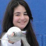 Katina Proestakis ocupó el puesto 33 en el Mundial Cadete de Esgrima