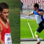 Alvaro Cortés y Joaquín Ballivian lograron nuevos récords nacionales de atletismo