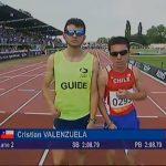 Cristián Valenzuela disputará la final de los 800 metros planos en el Mundial de Atletismo Paralímpico