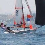 Chilenas marchan terceras en el ISAF Youth Worlds 2013 de Chipre