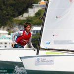 Chile logró el tercer puesto en torneo Nations Cup de veleros Optimist