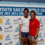 Nadja Horwitz y Carmina Malsch lograron medalla de plata en el ISAF Youth Worlds 2013
