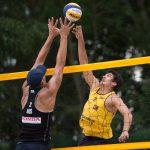Marco y Esteban Grimalt comenzaron su participación en el World Championship de Volleyball Arena