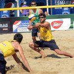 Los primos Grimalt lograron el puesto 33 en el Worldchampionship de Volleyball Arena