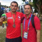 Rodrigo Miranda obtuvo la primera medalla chilena en los World Games 2013
