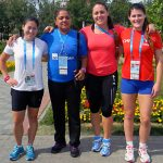 Natalia Ducó y Alejandro Peirano destacaron en nueva jornada de las Universiadas 2013