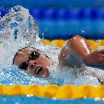 Kristel Köbrich logró el sexto puesto en los 1500 metros del Mundial de Natación
