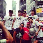 Selección Chilena de Fútbol Calle mostró su talento ante 28000 personas en el Times Square
