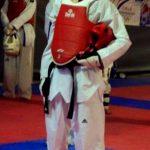 Bryan Blanco fue derrotado en la primera ronda de su categoría en el Mundial de Taekwondo