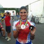 María José Moya logró medalla de plata en los 300 metros contrarreloj del Mundial de Patín Carrera
