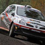 Jorge Martínez recupera terreno en la categoría R3 del Rally Mobil