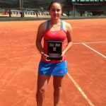 Cecilia Costa se coronó campeona del ITF de La Paz