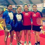 Camila Macaya y Ting Ting Chou lograron medalla de bronce en el Open Venezuela Badminton