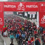 Más de 8.000 personas protagonizaron cicletada del Tour IND en Santiago
