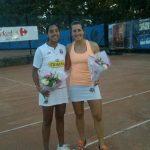 Daniela seguel se coronó campeona de dobles en el Servimart Open