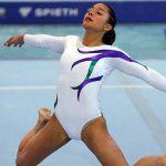 Makarena Pinto obtuvo el cuarto lugar en la final de suelo del Panamericano Específico de Gimnasia