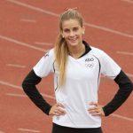 Isidora Jiménez afina detalles antes de su debut en el Mundial de Atletismo