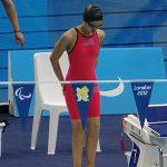 Francisca Castro participó este sábado en el Mundial de Natación Paralímpica 2013