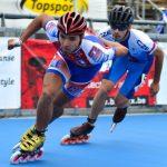 Sebastián Cerda logró la mejor ubicación chilena individual en nueva jornada del Mundial Patín Carrera