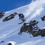 """Jim Sorbe y Hazel Birnbaum se quedaron con el triunfo en el """"Chilean Freeskiing Championship"""""""