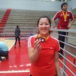 Ting Ting Chou y Esteban Mujica se coronaron campeones nacionales adultos de Badminton
