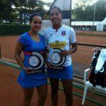 Daniela Seguel y Cecilia Costa se coronaron campeonas de dobles en ITF 25K de Mont-de-Marsan
