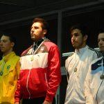 Paris Inostroza revalidó su título de espada en el Sudamericano de Esgrima 2013
