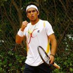 Ricardo Urzúa se coronó campeón de singles y dobles en el Futuro 23 Egipto