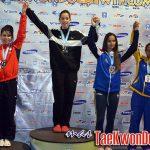 Chile logró un total de seis medallas en el Open Argentina de Taekwondo