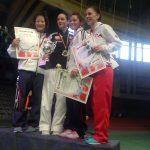 Gabriela Bruna y Alejandro Mellado lograron medallas en el German Open Karate 2013